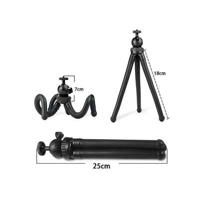 Flexible Portable Travel Octopus Tripods for camera and smartphone image 4
