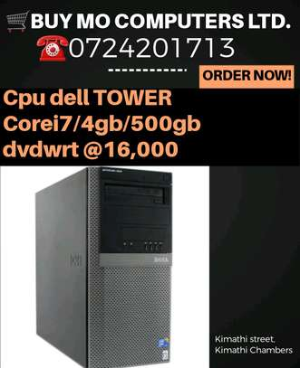 Cpu dell TOWER Corei7 3.2ghz/4gb/500gb dvd wrt image 1