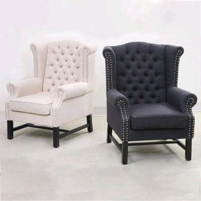Single seater Wingback Chesterfield Sofa/arm chairs image 1