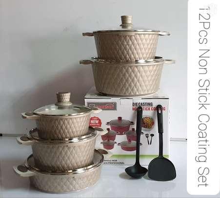 12 Pcs Cooksun Cookware Set image 2