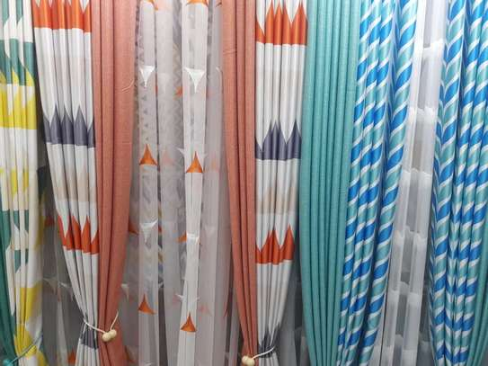 STYLISH SHEERS AND CURTAINS PER METRE @ 1300/= image 3