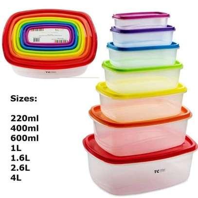 7 pc Container ( multicolor ) image 1