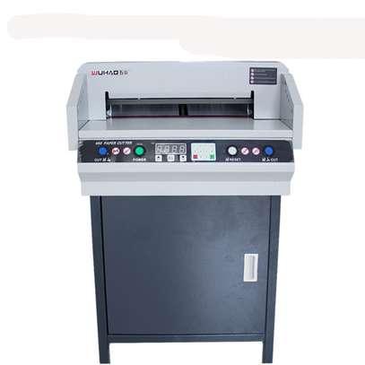 DC-8450VG electrical digital paper cutting machine image 2