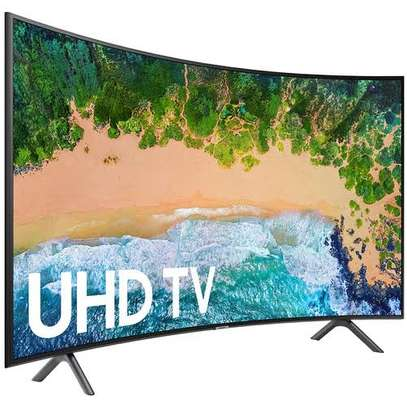 Samsung 55 inches Curved Smart UHD-4K Digital TVs 55RU7300 image 1