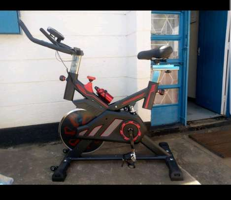 Fitness exercise bike image 1