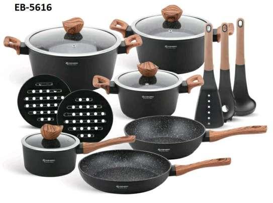 15pcs cookware set image 1