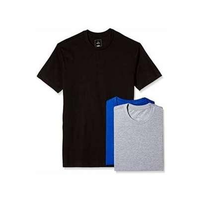 plain round neck  t shirts image 4