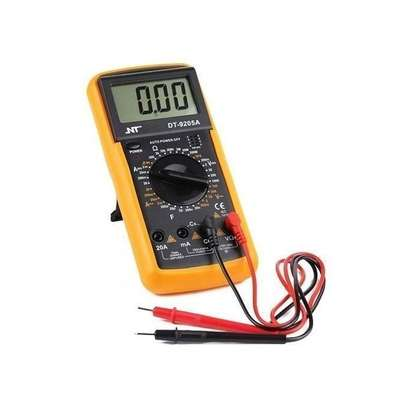 Digital Multimeter LCD AC/DC Ammeter Resistance Capacitance image 1