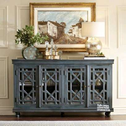 Grey buffet table for sale in Nairobi Kenya/Modern side table/consoles/console table image 1