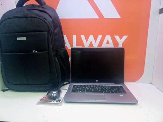 Hp 840 corei5 G3 ,,laptop bag & wireless mouse offer image 1