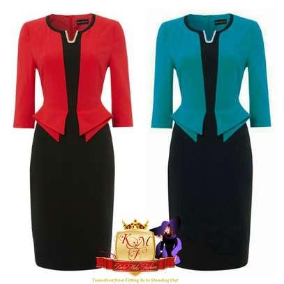 Front Detailed Dresses image 1