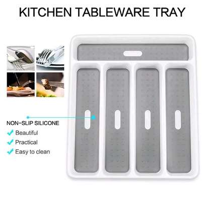Kitchen tableware tray image 1