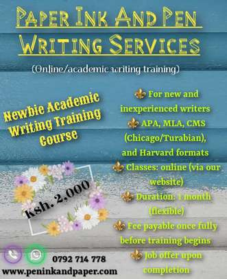 Academic Writing Training. image 2
