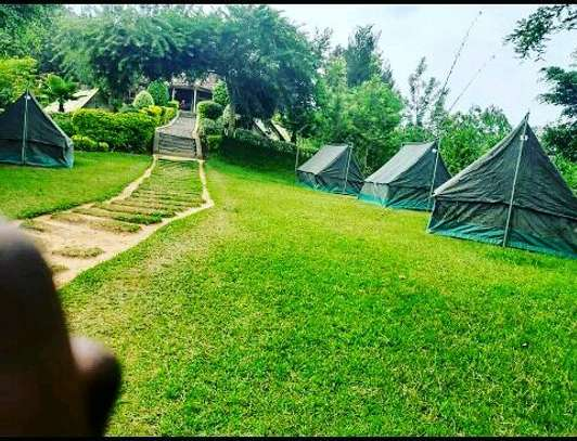 Camping tents, customized safari canvas & leather camping equipments