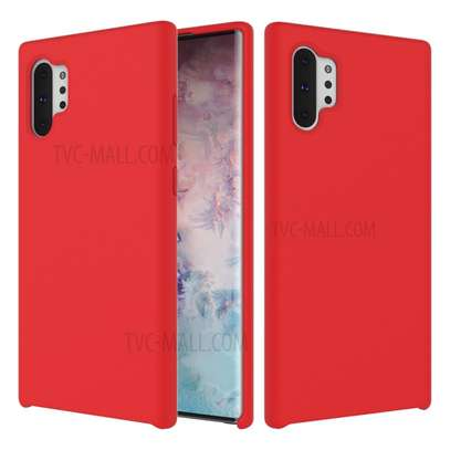 Silicone case,silky with Soft Touch Finish for Samsung Note 10,Note 10 Pro image 3