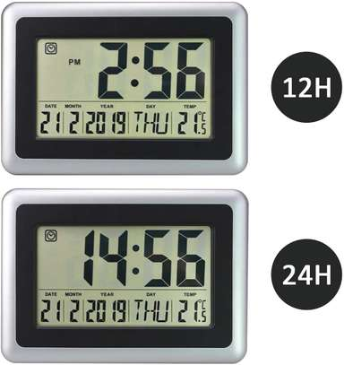 Digital LED Wall Clock With Alarm,Date,Temperature image 7