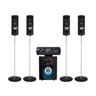 Leadder LEADDER 5.1CH Wireless Bluetooth Tallboy Home Speaker with Mircrophone SP-575