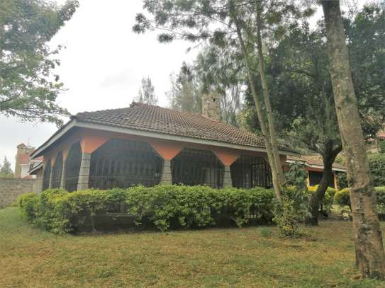 Four bedrooms bungalow to let in Ololua Ngong image 1