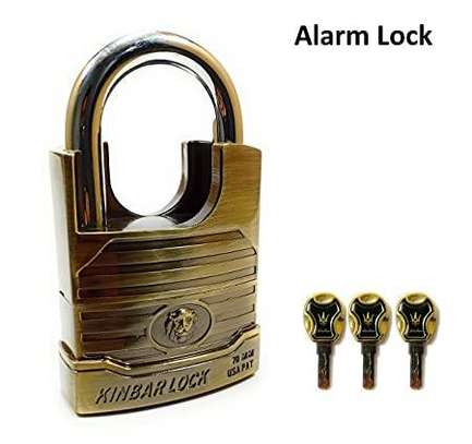 SECURITY ALARM PADLOCK image 1