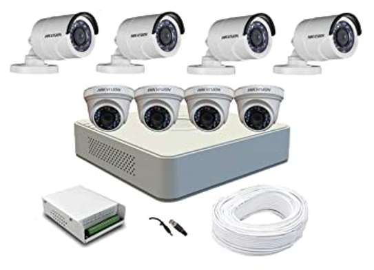 8 HD CCTV Complete Kit 1.3Mp (With 1000GB HDD + 100M) image 2