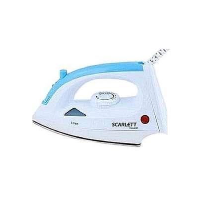 Scarlett Steam Iron Box - 1200W - White & Blue image 1