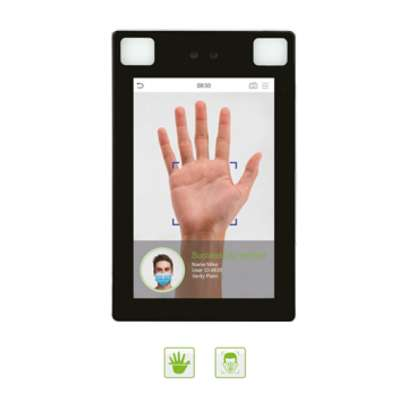 Facial Biometric Time Attendance And Access Control System-Zkteco ProFace X [TD] Face & Palm Verification and Body Temperature Detection Terminal image 2