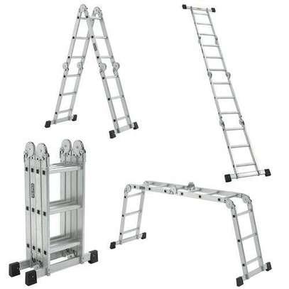 Aluminium Folding Ladder image 1