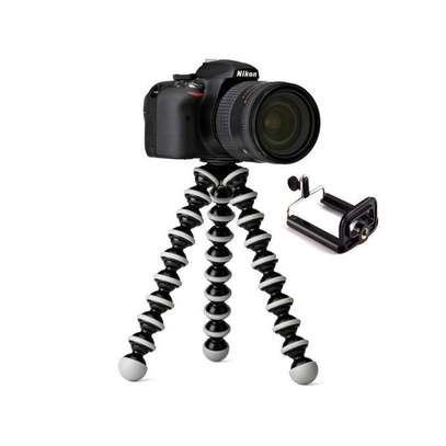 Octopus Tripod Flexible Bendable Tripod, Camera Tripod Octopus Camera Holder and Phone Tripod for Travel, Camping and Outdoor image 4