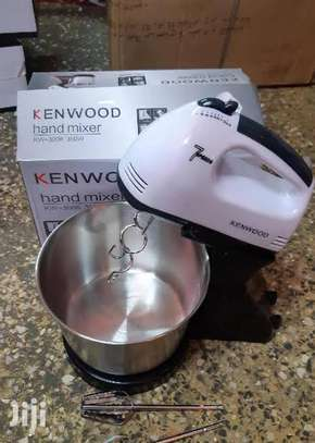 Electric handmixer with bowl and stand image 2