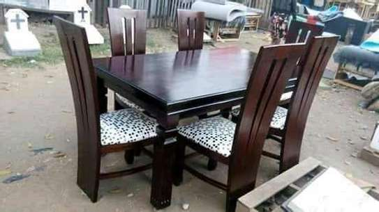 6 seater dining set image 1