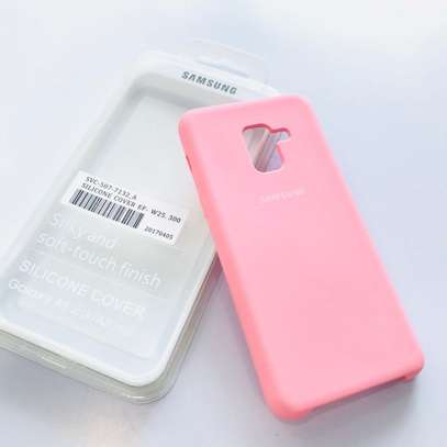 Silicone case with Soft Touch for Samsung A8 2018 A8 Plus 2018 image 6