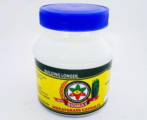 Neo-Biomax Purely healthy and organic wheatgrass capsules image 1
