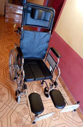 A New Othopeadic Special Wheelchair with Commode