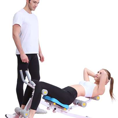 Abs Core max Abdominal Power Plank Exercise Machine image 5