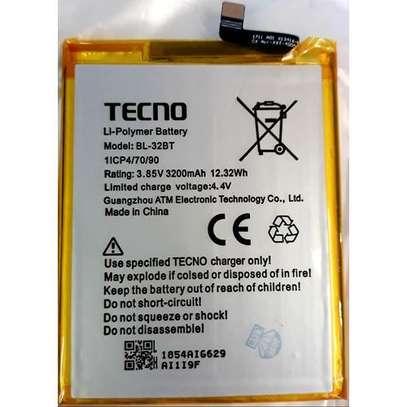 Tecno Model BL-32BT BL32BT Battery For Tecno Camon CX Air image 1