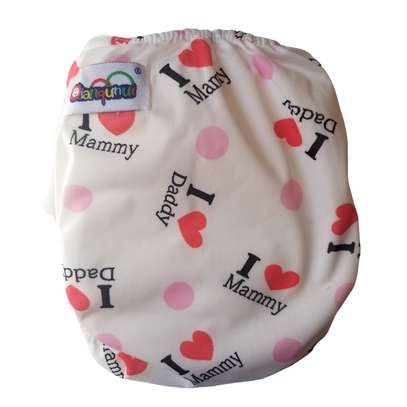 Washable Reusable Adjustable Baby Diaper with 3 Inserts image 1