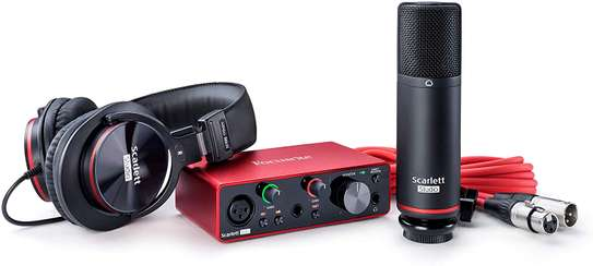 Focusrite Scarlett Solo Studio (3rd Gen) USB Audio Interface and Recording Bundle with Pro Tools image 2