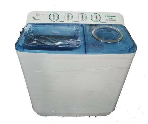 Hisense 7.5kg washing machine twin tub semi automatic image 1