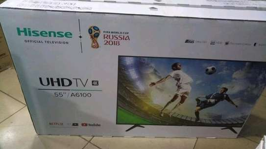 Brandnew Hisense 55inches UHD 4K TV