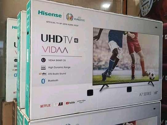65 inch Hisense Smart UHD 4K LED TV - New Sealed image 1
