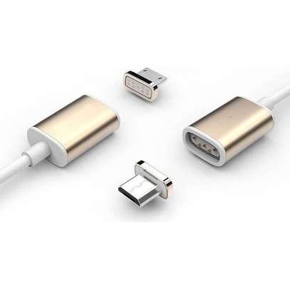 Earldom ET MC04 2 In 1 Metal Magic Magnetic Data Cable Type C - 1M image 2