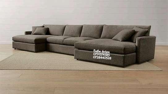 Modern L shaped sofas image 1
