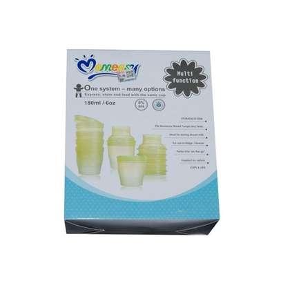 Mom Easy Multi functional Breast Milk Food Feeding System Storage Cups image 1