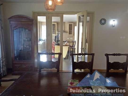 Furnished 4 bedroom house for rent in Karen image 8