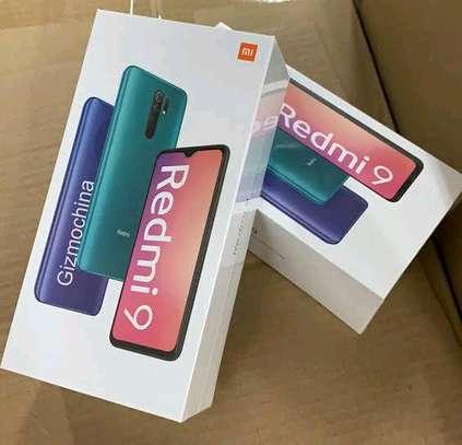 Redmi 9 new 64gb 4gb ram 5020mAh battery+Delivery image 1