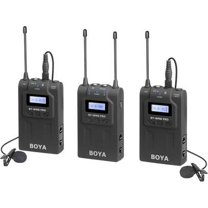 BOYA BY-WM8 Pro-K2 UHF Dual-Channel Wireless Lavalier System image 1