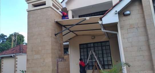 Designs and installation of shades sails canopies car shades etc image 2