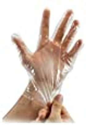 Disposable plastic  gloves image 1