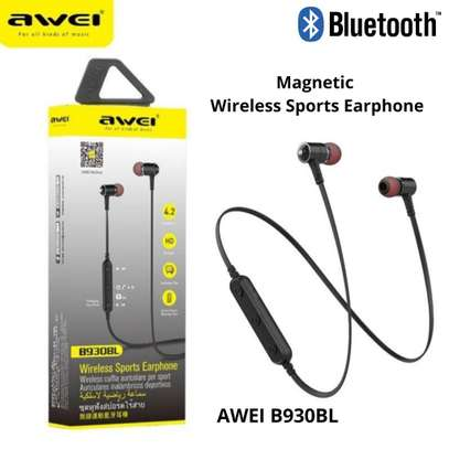AWEI B930BL BLUETOOTH WIRELESS EARPHONES image 2