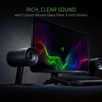 "Razer Nommo Chroma: Custom Woven 3"" Glass Fiber Drivers image 4"